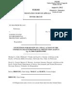 U.S. Magnesium LLC v. EPA, 10th Cir. (2012)