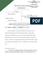 United States v. Mills, 10th Cir. (2013)