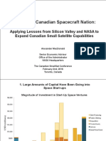 Towards a Canadian Spacecraft Nation