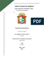 CENTRAL DE RIESGOS