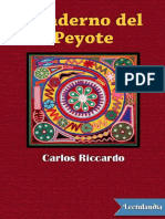 Cuaderno Del Peyote - Carlos Riccardo