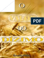 o Valor Do Dizimo