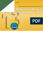 Diagnóstico de Resíduos Sólidos 2014