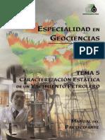 Caracterizacion Estatica de Un Yacimiento Petrolero