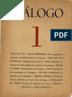Diálogo 1 - Primavera 1954 Recon