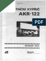 Kypřič Rotační AKR-122