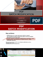 Modification for PDFS