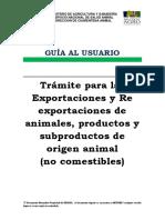 tramites para exportaciones de animales.pdf