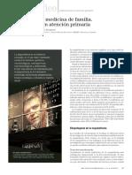 Esquizofrenia y Medicina de Familia. Implicaciones en Atención Primaria