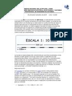 ESCALA,DIMENSION Y AREA DE UN SIG