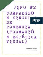 Trabajo Singular. Formación Estética Visual
