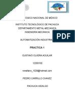 Practica1 Gustavo Olvera Aguilar Automatizacion