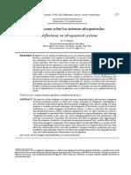 Reflexiones sobre los sistemas silvopastoriles.