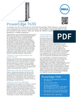 Dell PowerEdge T630 Spec Sheet PT BR HR