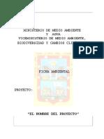 Formato Ficha Ambiental