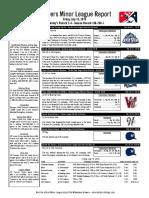 7.15.16 Minor League Report