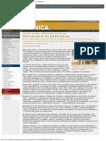 - EL MUNDO _ Suplemento cronica 631 - Clínica para los pederastas.pdf