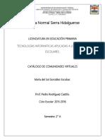 Catalogo Cv