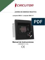 Manual Regulador de Carga Reactiva