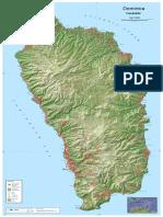 Dominica Topographic Map