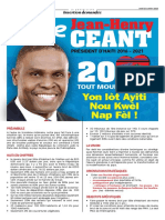 Jean Henry Ceant 2016 2021 Vision globale