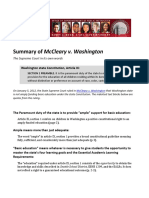 Summary McCleary Decision 2013