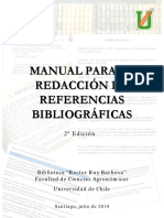 Manual Redaccion Referencias Bibliograficas 2a Edicion