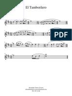 tamborilero- Clarinet in Bb 1.pdf