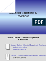 Chemical Equations & Reactions (1)