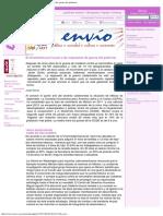 Revista Envío - El Movimiento Por La Paz y Las Respuestas de Guerra Del Gobierno