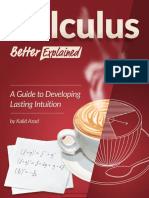 Calculus- Better Explained a Guide to Developing Lasting Intuition