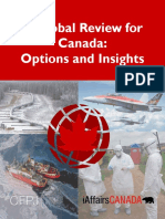 A Global Review for Canada Options and Insights