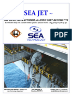 SEA JET Reel Brochure - Submersible movable pump with Hose support