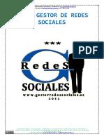 Curso Basico Con Diploma Gratuito de Gestor Redes Sociales 2014