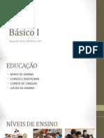 Básico i - Educação