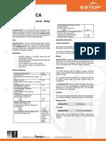 Estobond PCA - Data Sheet - 130702