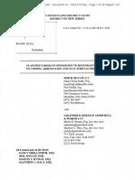 Carlson brief against Ailes petition