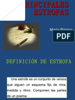 PRINCIPALES ESTROFAS