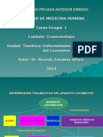 ENFERMDADES TRAUMATICAS DEL APARATO LOCOMOTOR.ppt
