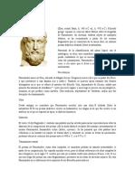 Biografias - Parménides