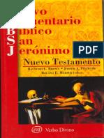 Nuevo Comentario Biblico San Jeronimo.nuevo Testamento