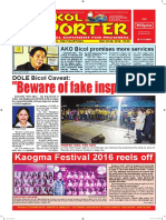 Bikol Reporter May 22 - 28, 2016 Issue