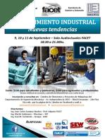 Curso Mantenimiento Industrial FACET 2013