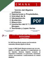 Algebra Booleana. Teoremas y Propiedades 28772