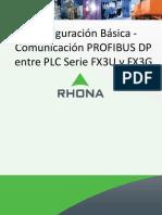 Comunicación Profibus Entre Fx3u y Fx3g