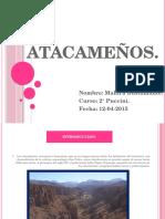 Atacameños Historia Disertación.