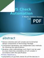 LVS Automation LVS Automation