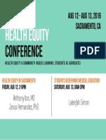 UCD Health Equity 2016