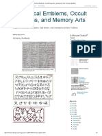 Alchemical Emblems, Occult Diagrams, And Memory Arts_ Alchemy Symbols