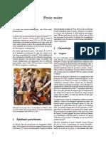 14th Century - Peste Noire